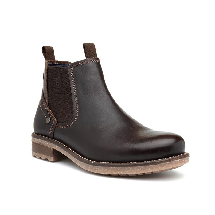 Wrangler Hill Mens Brown Leather Chelsea Boot