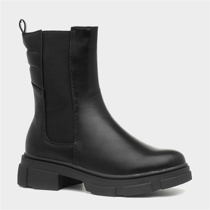 Truffle More3 Womens Black Chelsea Boot