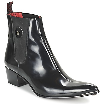Jeffery-West CENTRE SEAM CHELSEA men's Mid Boots in Black. Sizes available:12