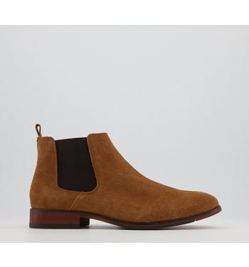 Office Barkley 2 Chelsea Boots TAN SUEDE