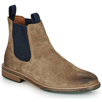 Schmoove PILOT-CHELSEA men's Mid Boots in Brown. Sizes available:6.5,7,8,8.5,9.5,10.5
