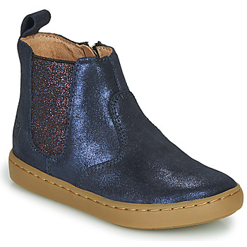 Shoo Pom PLAY CHELSEA girls's Children's Mid Boots in Blue. Sizes available:7.5 toddler