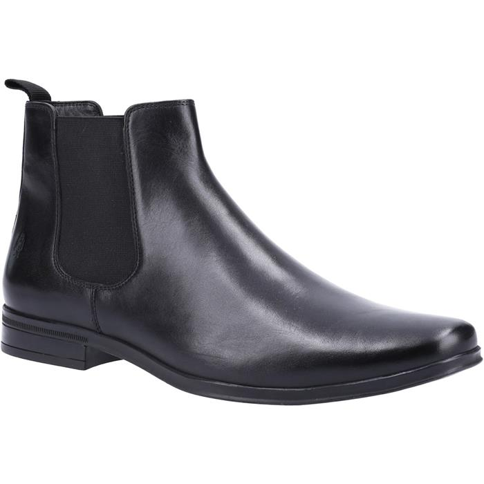 Hush Puppies Bryce Mens Chelsea Boot in Black