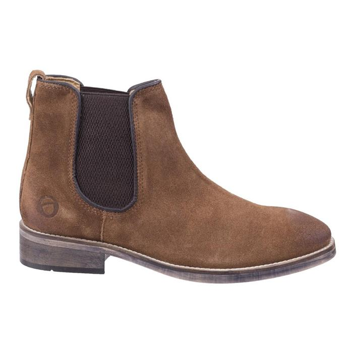 Cotswold Corsham Mens Chelsea Boot in Brown